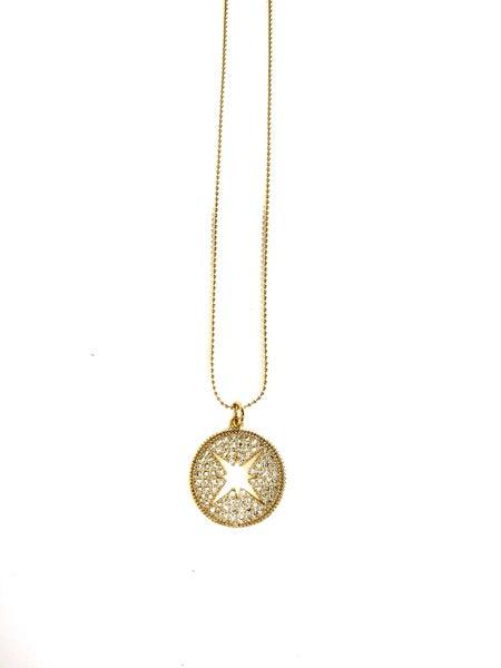 Hila Open Star Necklace