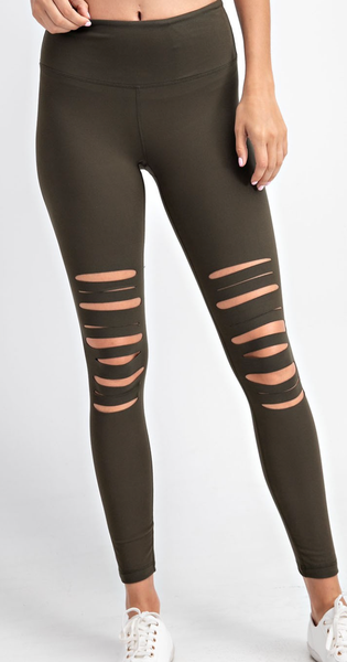 Did You Stretch Tho Leggings - 4 Colors!