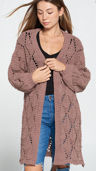 A Heart Full Of Kindness Cardigan - 2 Colors!