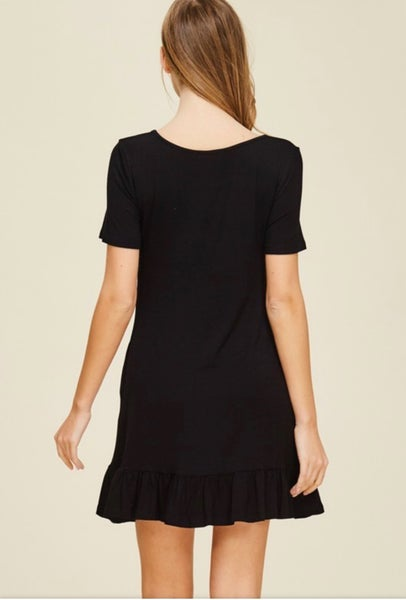 GO WITH THE FLOW BABY DOLL DRESS