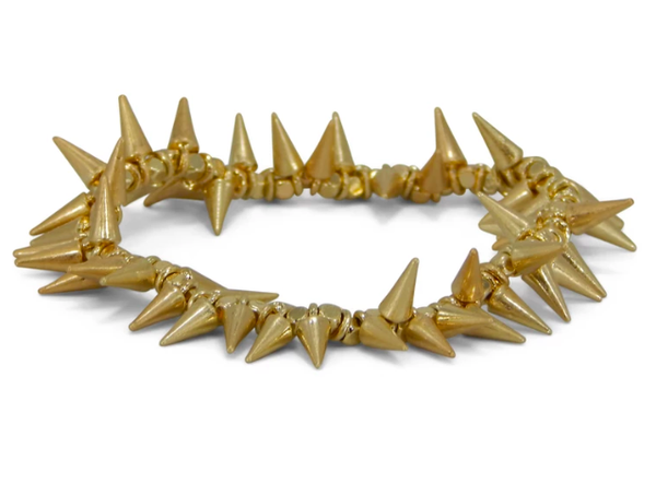 Erimish Gold Spike Bracelet