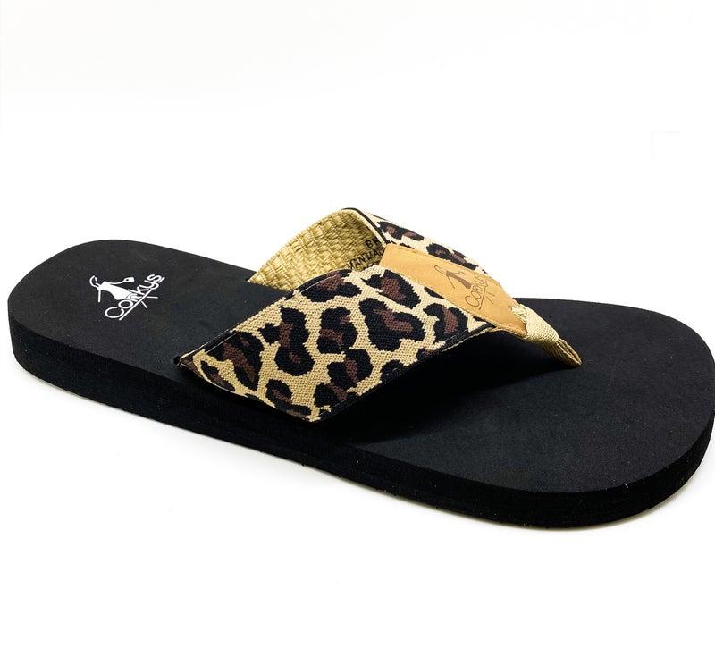 Corky's Brazil Sandal - Cheetah