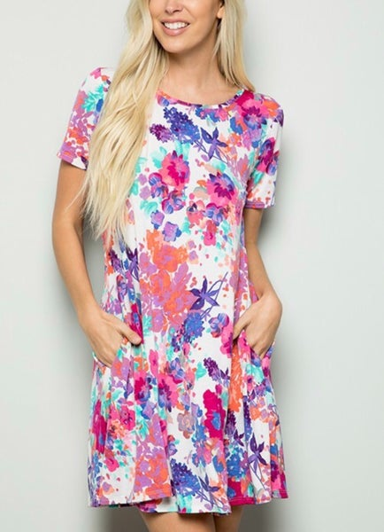 Only Good Vibes Dress
