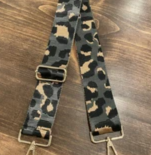 The Carrie Leopard Strap - 5 Colors!