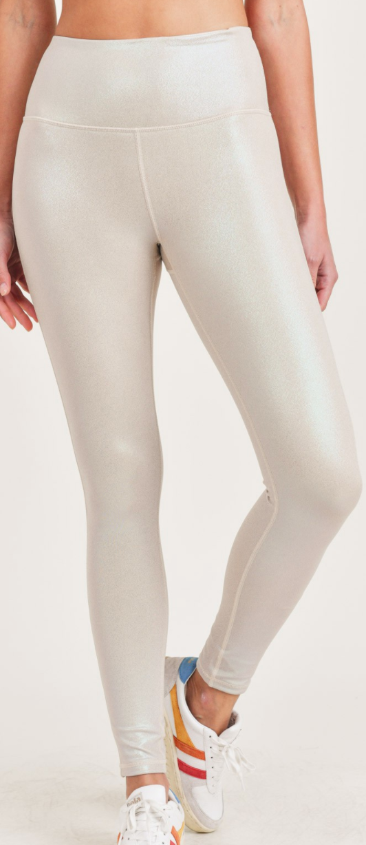 Pearlescent Shine Leggings - 3 Colors!