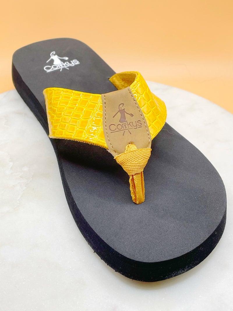 Corkys Beach Ball Sandals- 5 Colors!