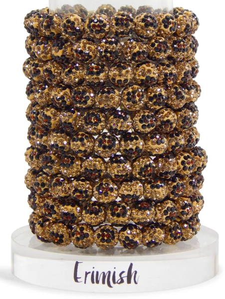 Erimish Leopard Stretch Bracelet