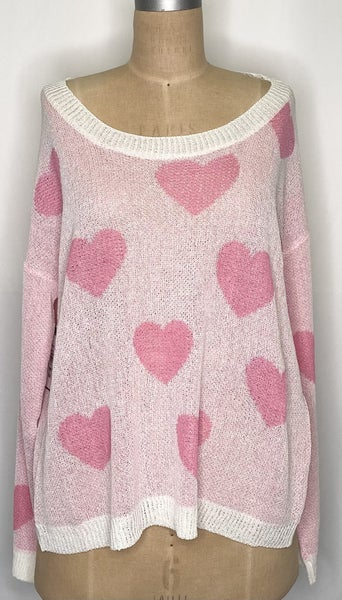 Fall In Love With It Sweater - 2 Colors!