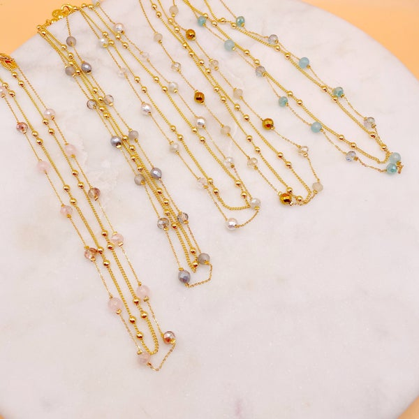 By Alexa Rae Sloan Necklace Set Gold - 5 Colors!