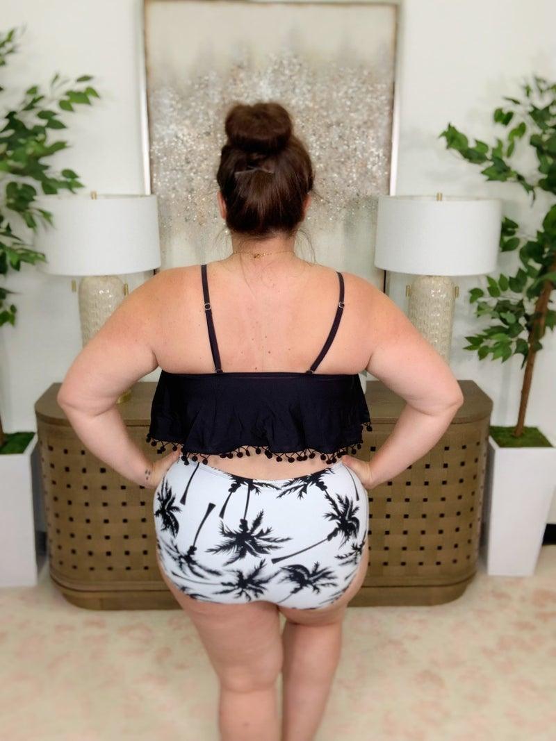 Taking Chances Tassel Bikini