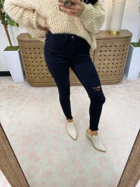 Judy Blue Nirvana High Rise Skinny Jeans