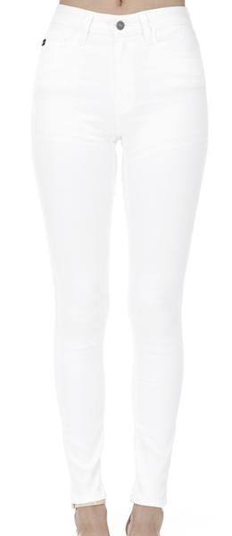 Kancan White High Rise Jeans