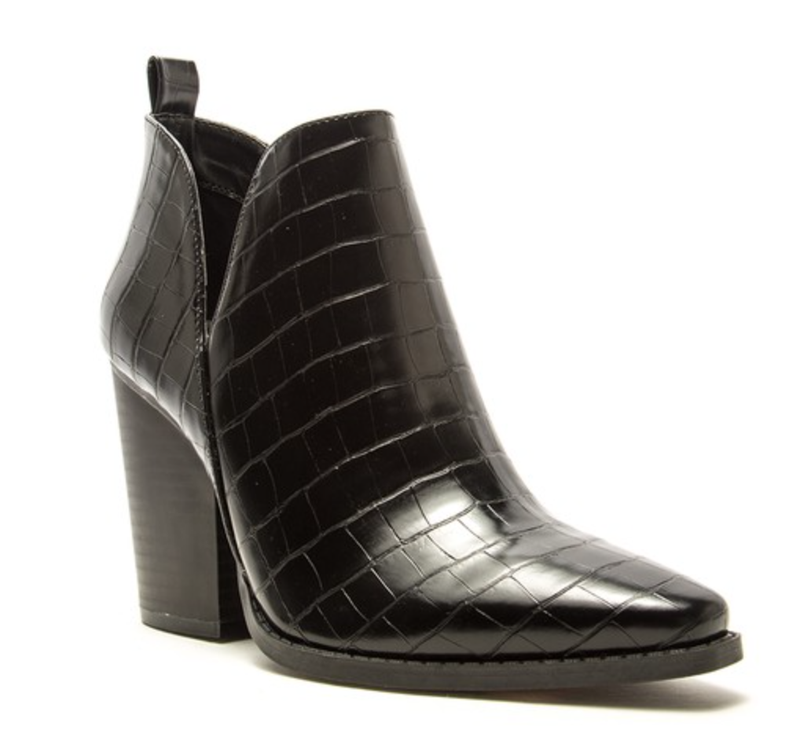 Slay Queen Bootie - Black
