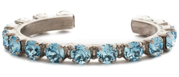 Sorrelli Riveting Romance Crystal Cuff Bracelet - 8 Colors!