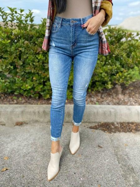 Risen - Girl Next Door High Rise Skinny Jeans