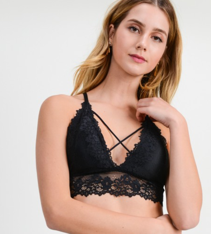 Got You Covered Bralette - 3 Colors!