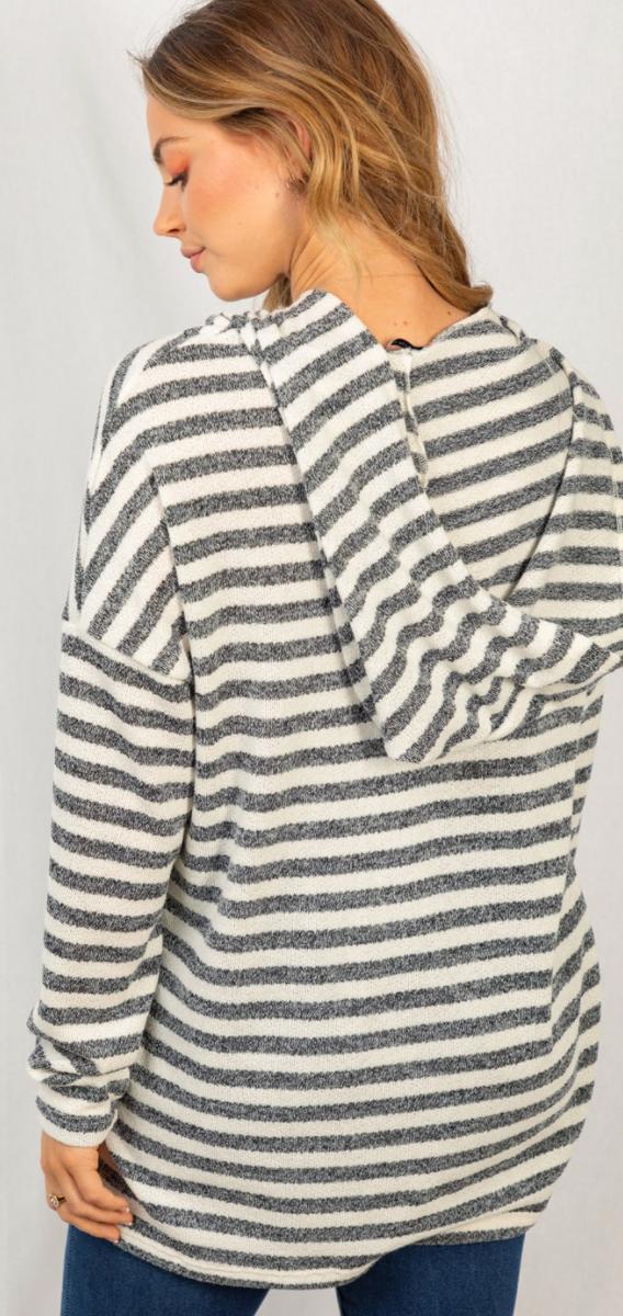 Bringing Stripes To Life Hoodie - 2 Colors!