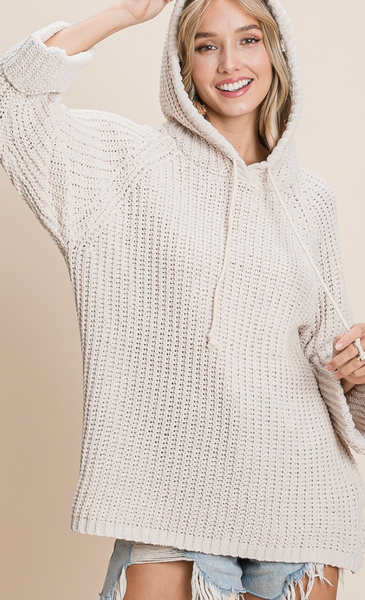 Keys To Comfort Hooded Sweater - 3 Colors!