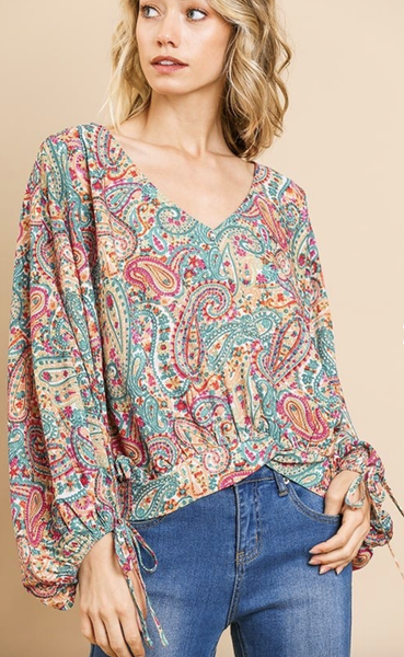 Paisley Days Top