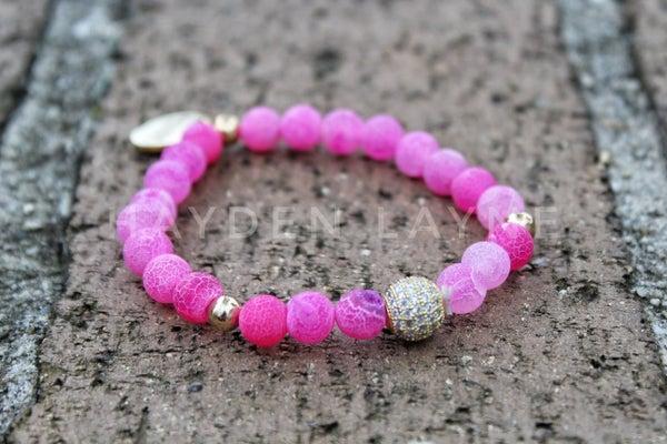 Pink Natural Uplifting Bracelet