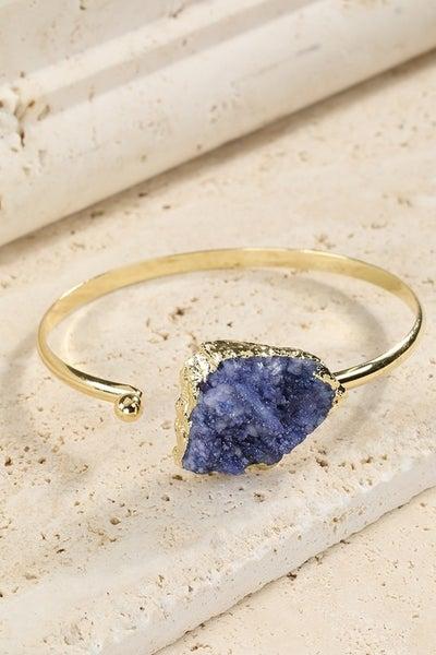 Druzy Stone Bracelet
