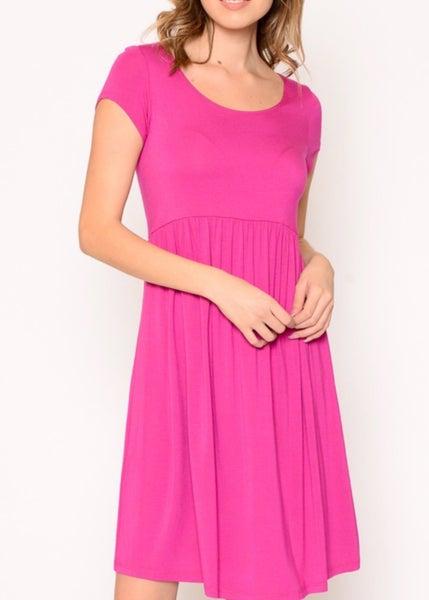 BABYDOLL DRESS (PINK)