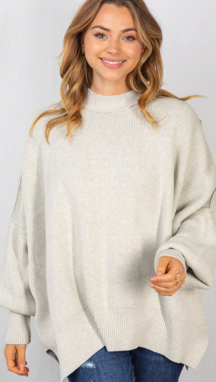 Greater For It Sweater - 2 Colors!