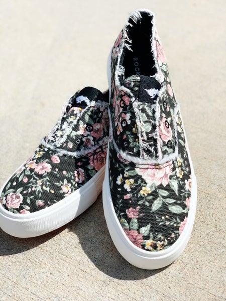 Blowfish Street Talk Slip On Sneaker- Floral