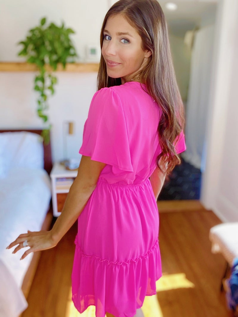 Can't Resist Pink Dress