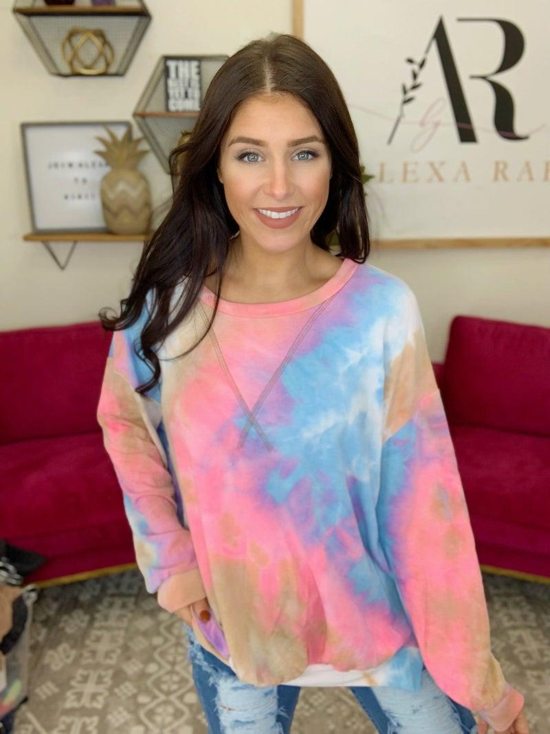 Eye For Tie Dye Sweater