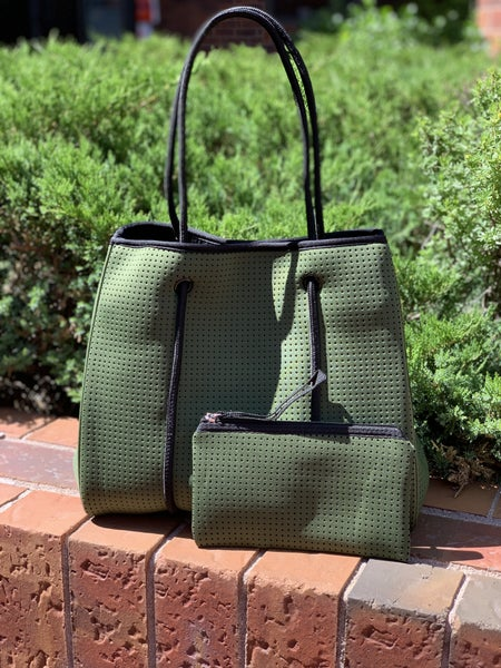 LILLY TOTE ARMY GREEN
