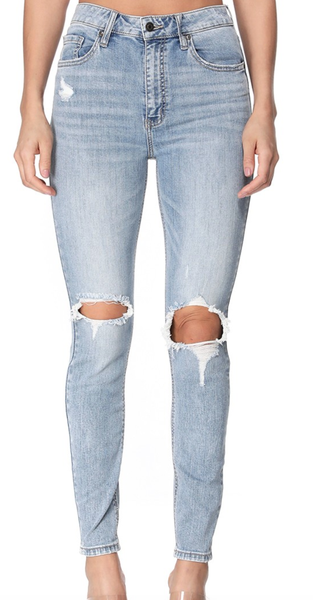 Eunina Pair Of These Bella High Rise Skinny Jeans