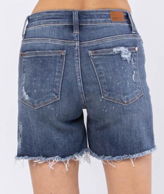 Judy Blue Dance N Move Denim Shorts