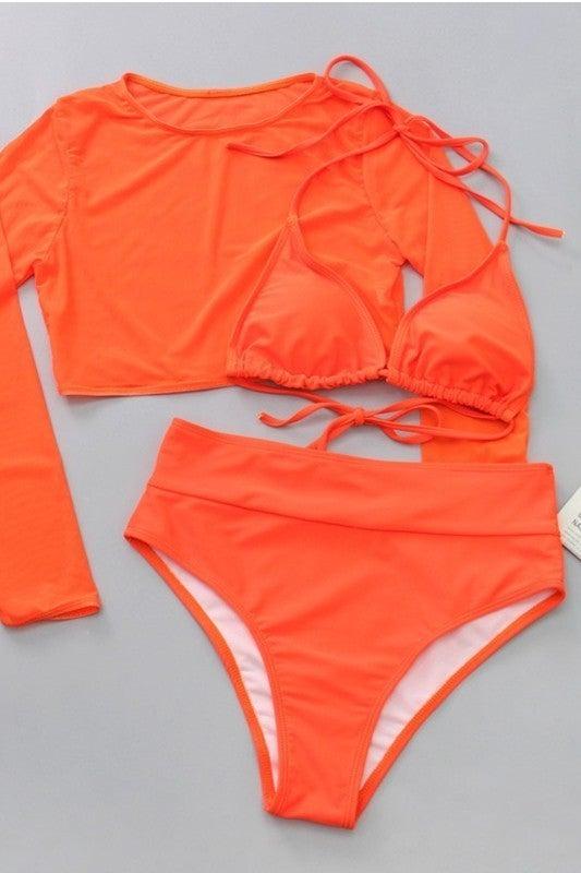 Neon Beaches Swimsuit- 3 Colors!