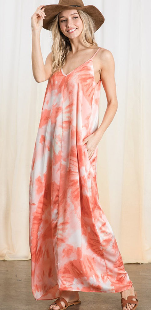 Cute And Sweet Maxi Dress-2 Colors