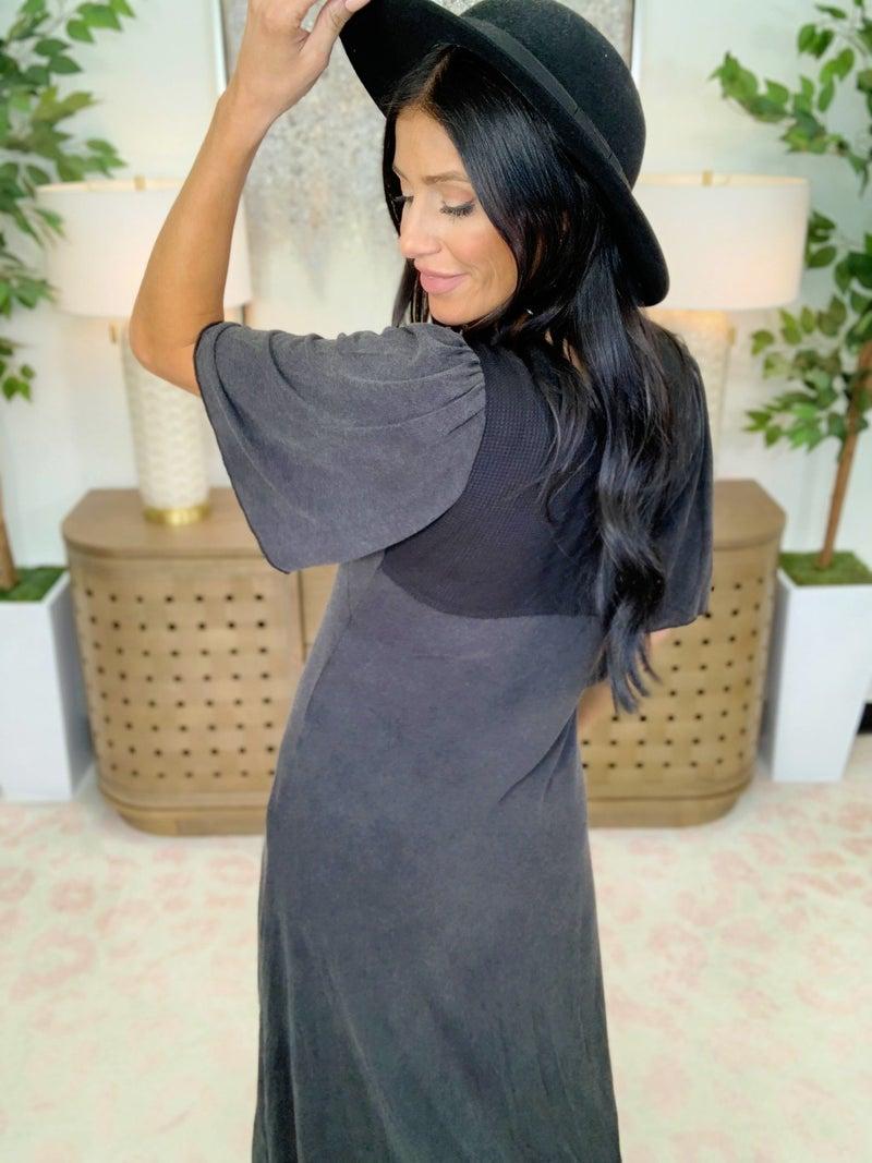 Button Up Beauty Dress - 2 Colors!