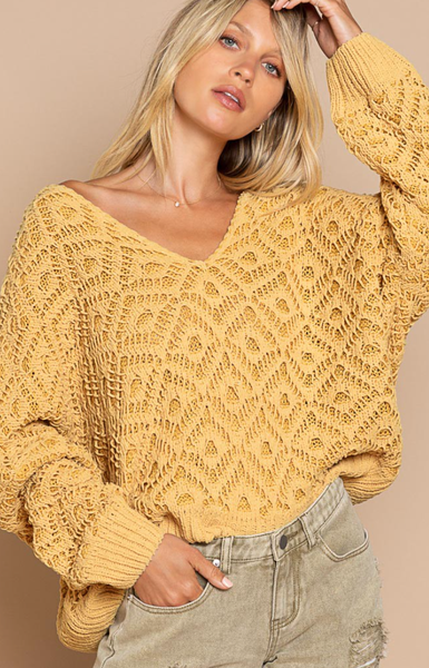 Third Dimension Sweater - 3 Colors!