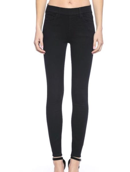 Cello Pull On Skinny Jeans Black