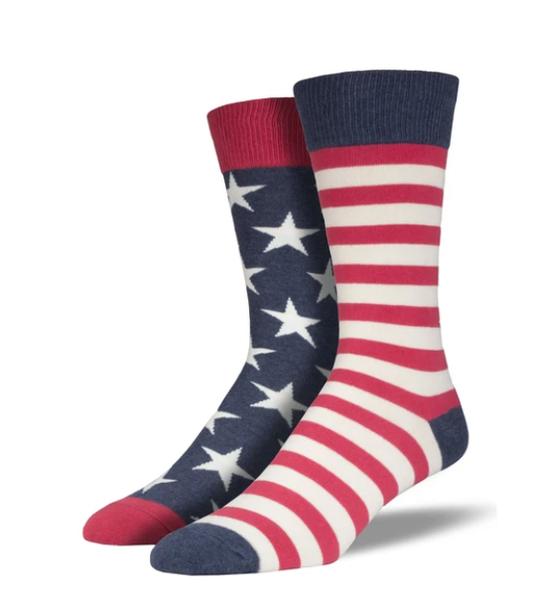 Flag Socks - Men's