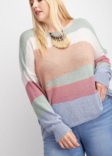 Desert Storm Knitted Sweater Top