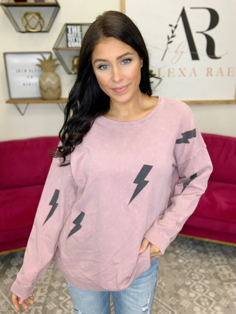 She Strikes Again Pullover - 3 Colors!