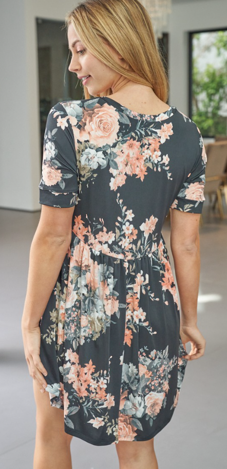 Smart And Sassy Floral Dress