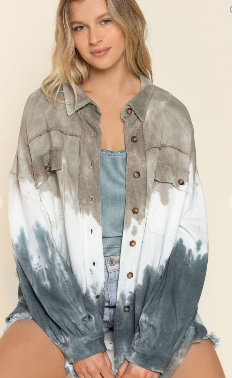 Write To Me Jacket - 2 Colors!