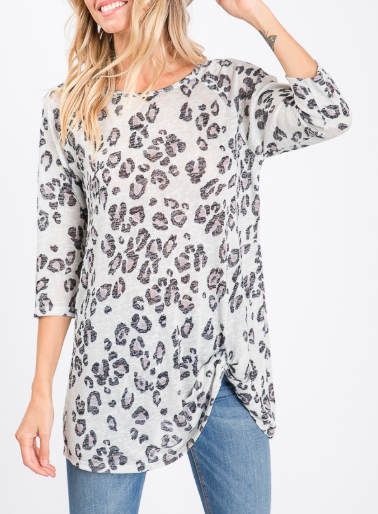 Purfectly Pretty Twist Knot Top