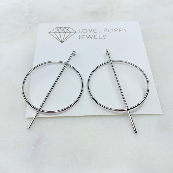 Love Poppy Straight Shooter Earrings