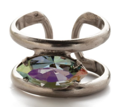 Sorrelli Camille Stacked Crystal Ring