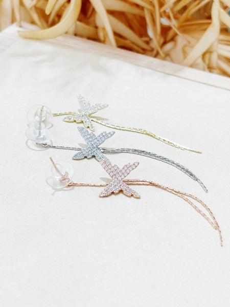 Melania Clara Fairy Earrings