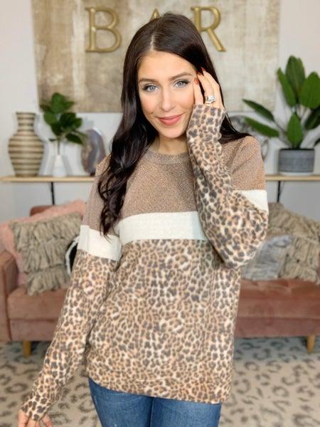 S'more Leopard Never Hurt Top