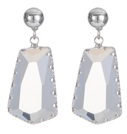Melania Clara Felicia Earrings Silver - 2 Colors!