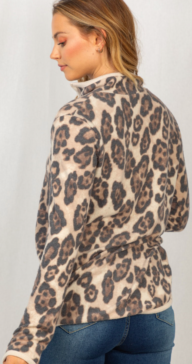 For The Love Of Leopard Pullover